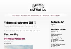 Tour Club Møn-Sydsjælland har fået bygget deres hjemmeside i WordPress