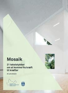 Bogen Mosaik - 21 tekststykker om at komme sig fra kræft til kræfter af Lotte Seheim